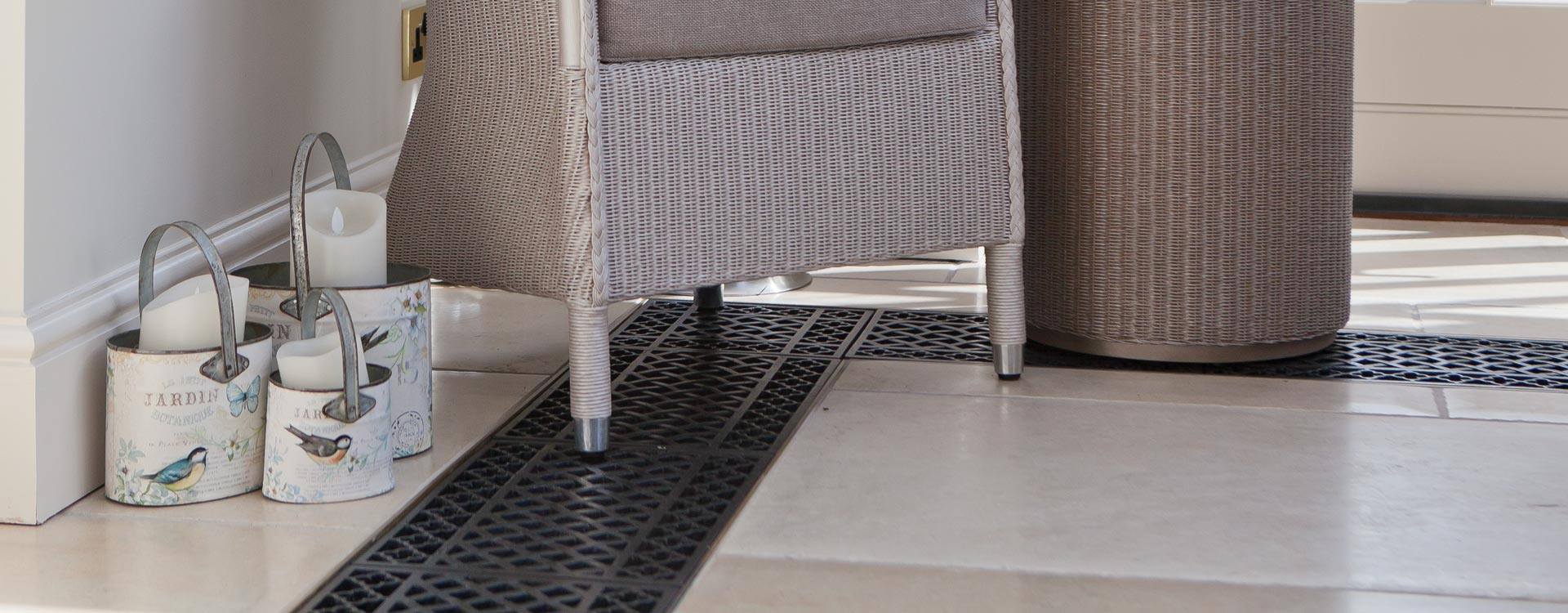 Floor Grilles for your Conservatory
